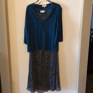 Studio 1 sleeve less dress size 24
